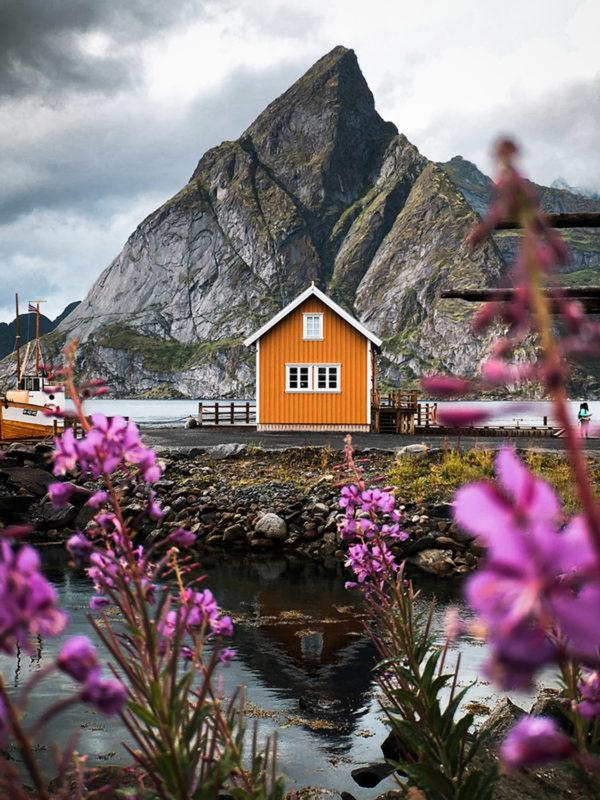 Norwegian houses make for some great photographs.