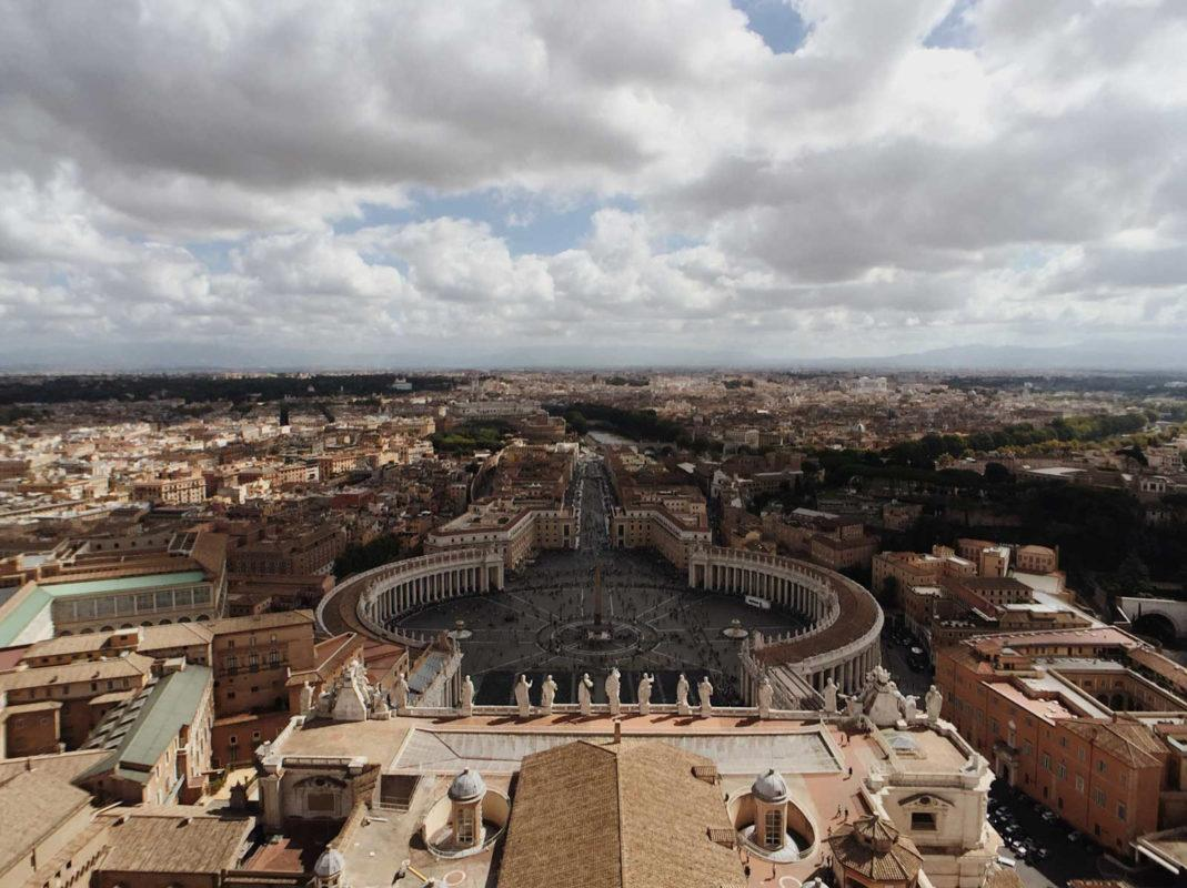 And the great Vatican city