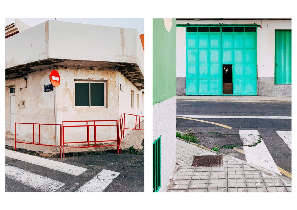 The streets of Gran Canaria provided some fresh colors and a mediterranean feel.